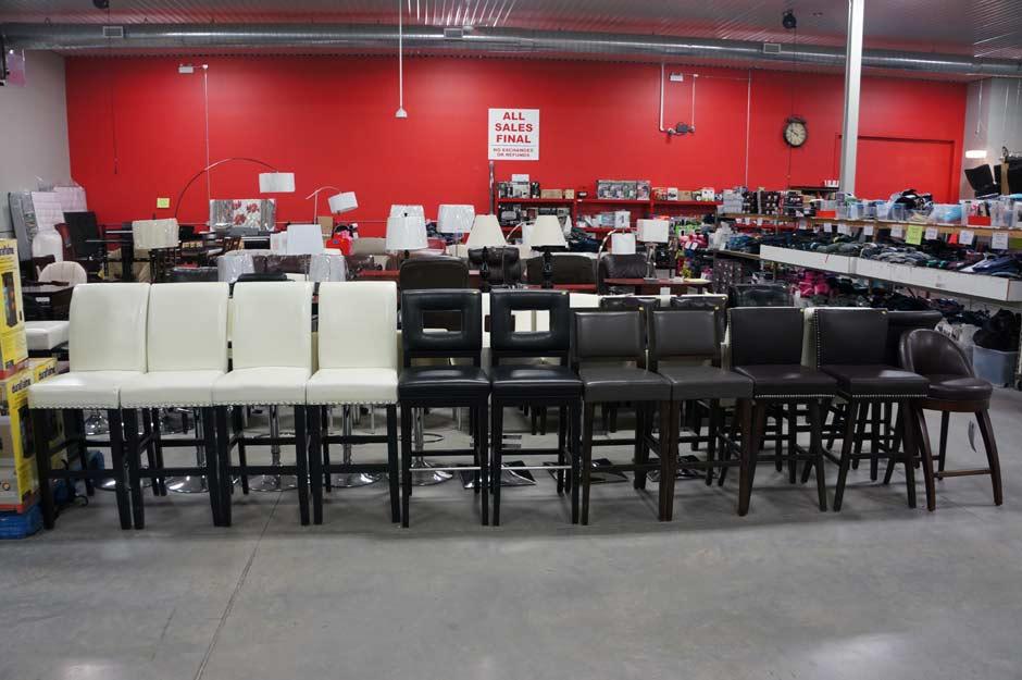 Inventory chairs bar stools k liquidation